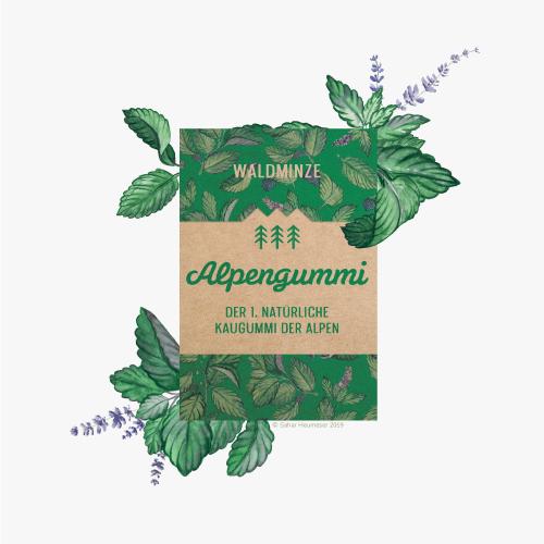 Alpengummi > Illustration