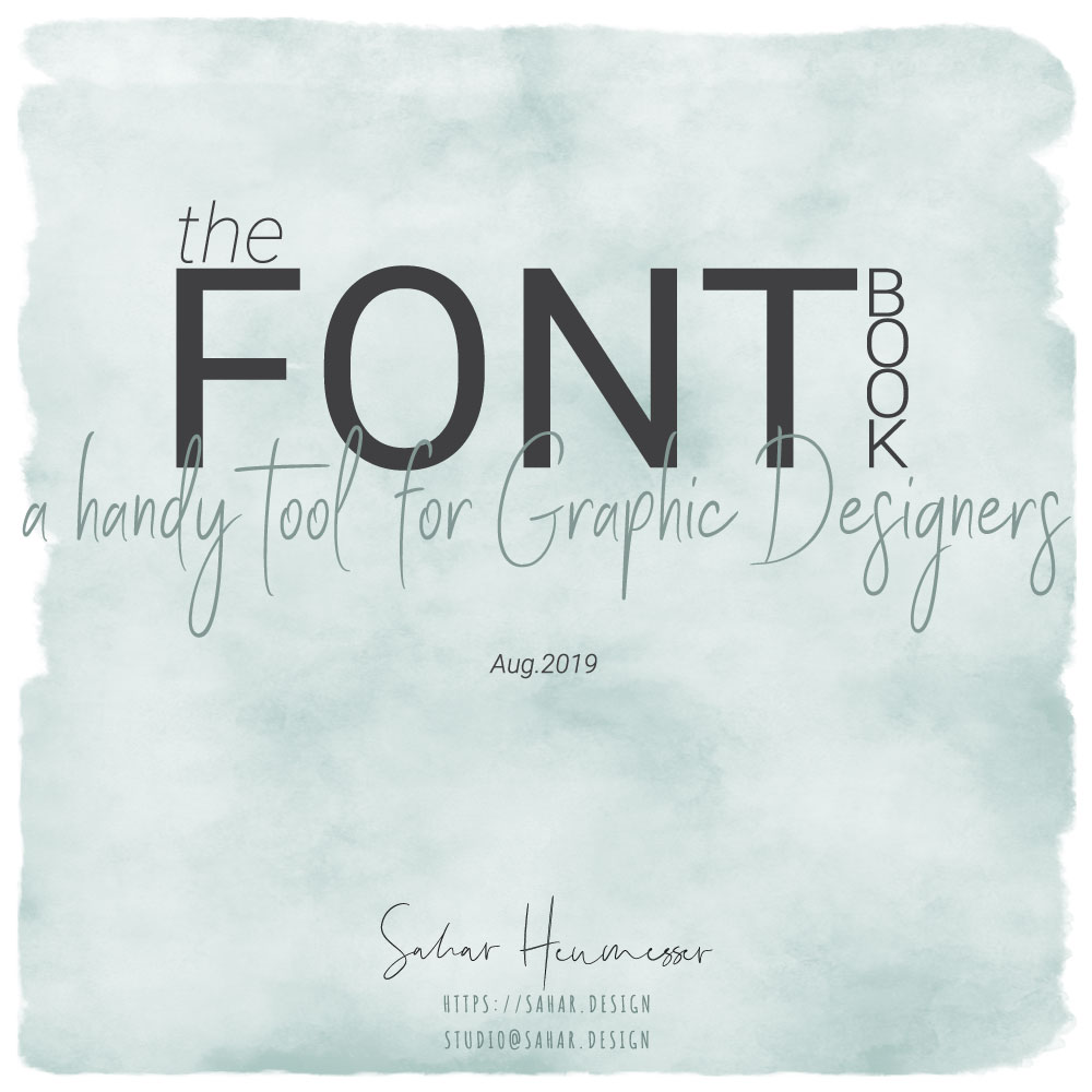 The FONT Book